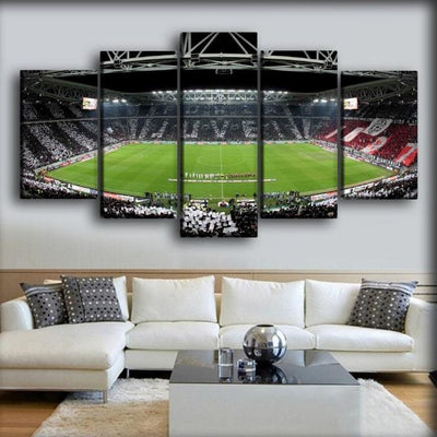 Juventus - The Allianz Stadium Field - Canvas Monsters