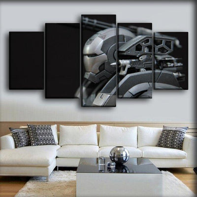 War Machine - Side View - Canvas Monsters