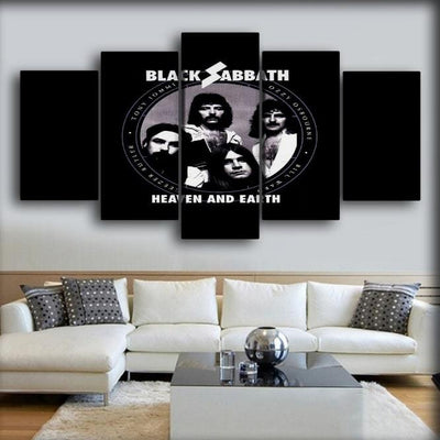 Black Sabbath - Heaven And Earth - Canvas Monsters
