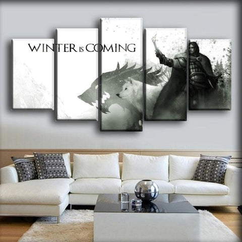 Image of Game Of Thrones - Winter Is Coming Art Work