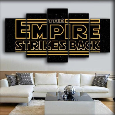 Star Wars - The Empire Strikes Back - Canvas Monsters