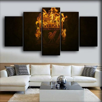 Liverpool - The Reds - Canvas Monsters