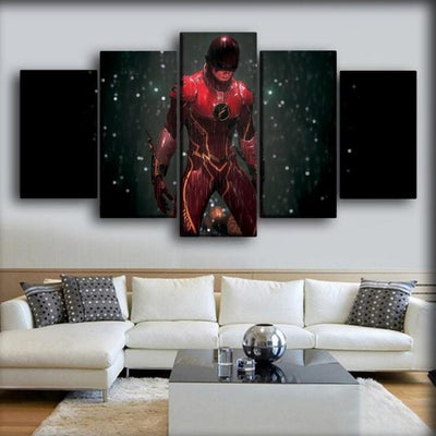 Flash - Justice League Movie Still - Canvas Monsters