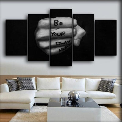 Be Your Own Hero - Canvas Monsters