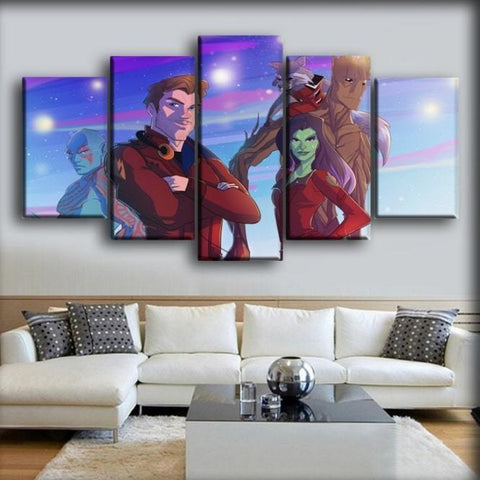 Guardians of the Galaxy  - Star Lord and Gamora