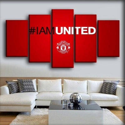 Manchester United - I Am United - Canvas Monsters