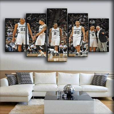 Spurs 8 - Canvas Monsters