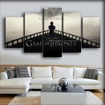 Game Of Thrones - Tyrion Lannister - Canvas Monsters