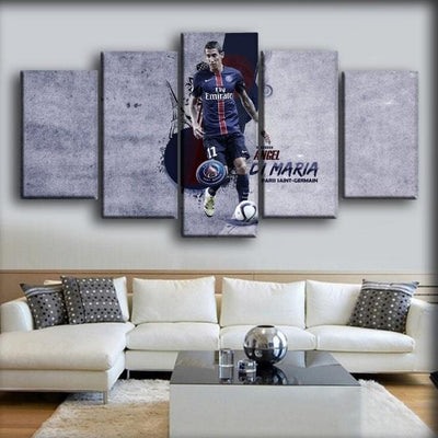 Paris Saint-Germain - Angel Di Maria - Canvas Monsters