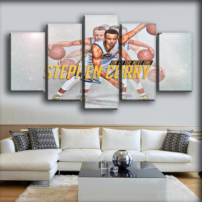 Stephen Curry - On To The Next One - Canvas Monsters