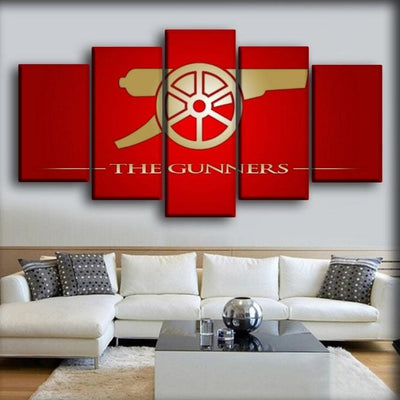 Arsenal - The Gunners Of Europe - Canvas Monsters