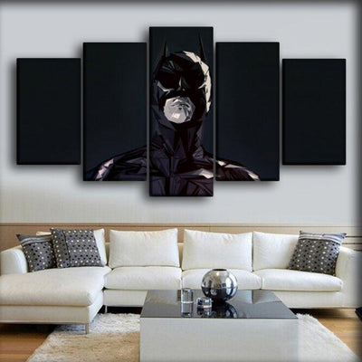 Batman - Abstract Version - Canvas Monsters