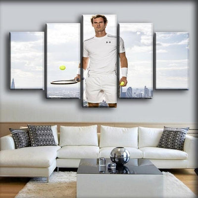 Andy Murray  - 5