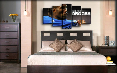Chelsea - Didier Drogba Celebration - Canvas Monsters