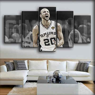 Spurs 13 - Canvas Monsters