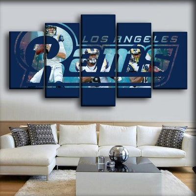 Los Angeles Rams - The Trio - Canvas Monsters
