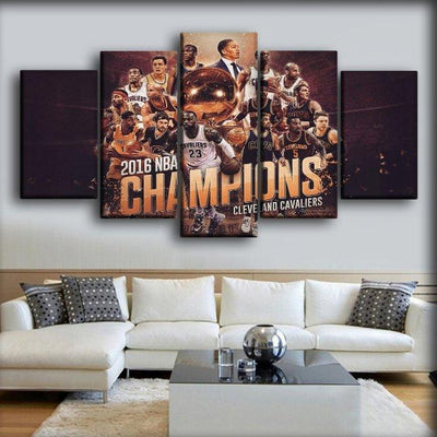 Cavaliers 5 - Canvas Monsters