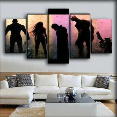 Guardians of the Galaxy  - The Shadow of the Guardians - Canvas Monsters