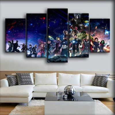 The Avengers - Infinity War Movie - Canvas Monsters