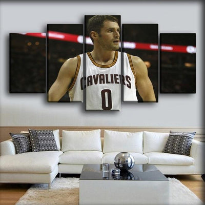 Kevin Love - On White Jersey