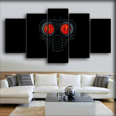 Guardians of the Galaxy  - Star Lord Mask - Canvas Monsters