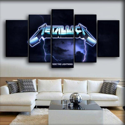 Metallica - Ride The Light - Canvas Monsters