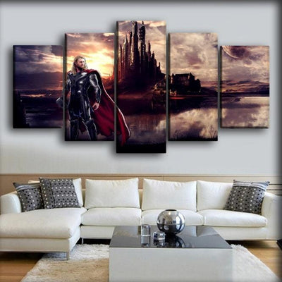 Thor - Asgard Palace - Canvas Monsters
