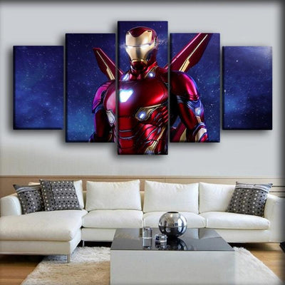 Iron Man - Iron Avenger - Canvas Monsters
