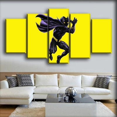 Black Panther - The Yellow Background