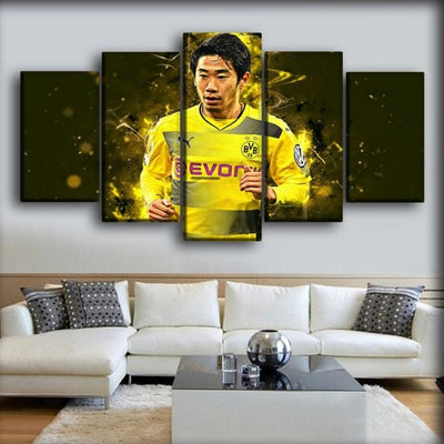 Borussia Dortmund - Shinji Kagawa - Canvas Monsters