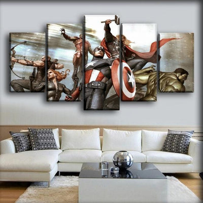 The Avengers - Comic Version - Canvas Monsters