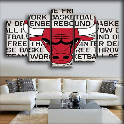 Bulls 17 - Canvas Monsters