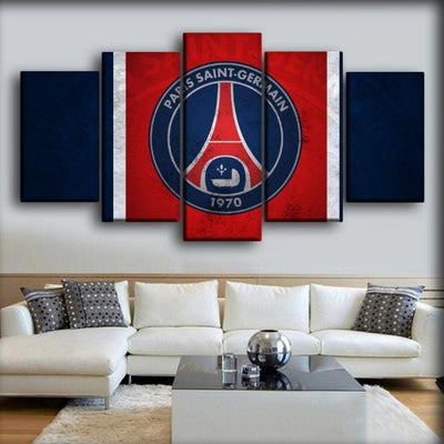 Paris Saint-Germain - Football Team Theme Color - Canvas Monsters