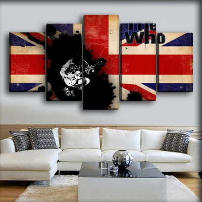 The Who - Playing The Guitar - Canvas Monsters
