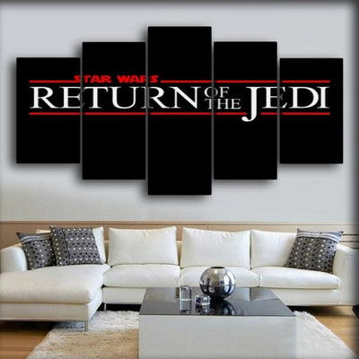 Star Wars -  Return Of The Jedi - Canvas Monsters