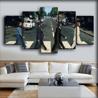 The Beatles - Abbey Road - Canvas Monsters