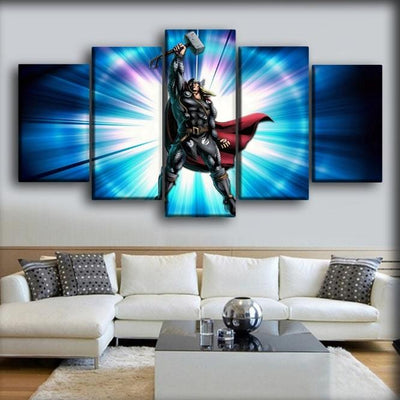 Thor - Marvel Vs Capcom - Canvas Monsters