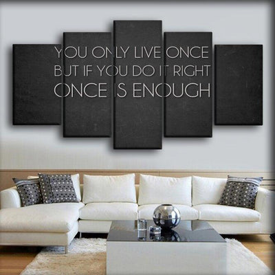 Motivational - You Only Live Once