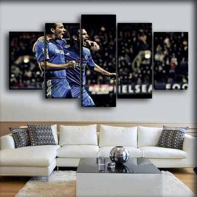 Chelsea - The Duo Lampard + Terry - Canvas Monsters