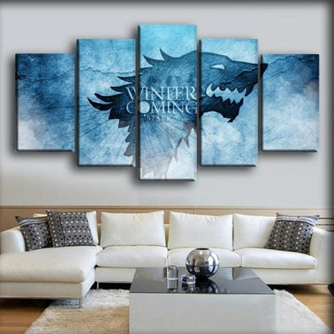 Game Of Thrones - Winter Is Coming Logo