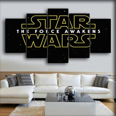 Star Wars - The Force Awakens - Canvas Monsters