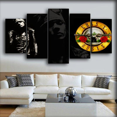 Guns n Roses - Axl Rose - Canvas Monsters