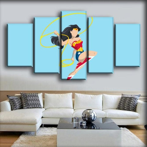 Wonder Woman - With Lasso Of Truth Minimalist