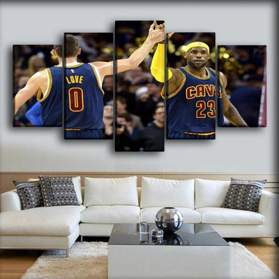 Kevin Love - Zero And Twenty Three - Canvas Monsters