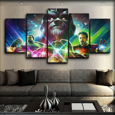 The Avengers - Thanos - Canvas Monsters