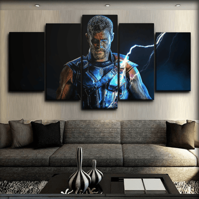 Thor - One Eyed Infinity War - Canvas Monsters