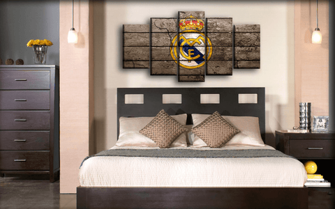 Image of Real Madrid - Retro Wall