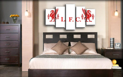 Liverpool - Liver Bird Side To Side - Canvas Monsters