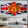 Manchester United - Retro Canvas