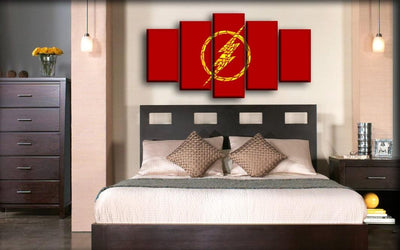 Flash - The Collage Logo - Canvas Monsters